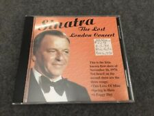 Frank Sinatra The Lost London Concert First Show Nov 16 1970 CD RARE