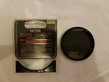 Genuine HOYA 55 mm Circular Polarizing Super Quality HMC MULTI-COATED GLASS