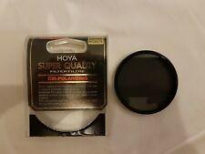 Genuine HOYA 55 mm Circular Polarizing Super Quality HMC MULTI-COATED GLASS