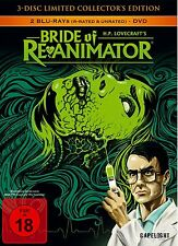 Bride Of Re-Animator (3-Disc Lim. Coll. Edt.) Mediabook [Blu-ray] Neu&OVP