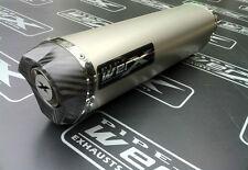 Honda CBR 900 Fireblade 92-95 Titanium Tri Oval, Carbon Outlet Exhaust Can