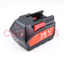 Battery For Milwaukee 28V V28 Li-ion 2.0A Li-ion 0726-22 48-11-2830 0780-20 OZ