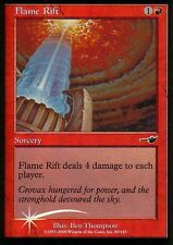 Flame grieta foil | nm - | némesis | Magic mtg