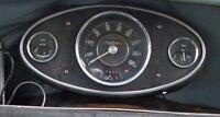 Mini  Mk 1 Cooper  S  Speedo  Binnacle  CHROME  SCREWS  Dash 120  Austin Morris