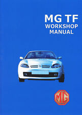 MGTF Official Workshop Manual 1.6 MPi 1.8 MPi 1.8 VVC K Series Engine MGTFWH NEW