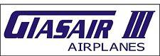 A016 Glasair III Airplane banner hangar garage decor Aircraft signs