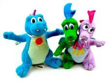 Retro Dragon Tales Zak & Wheezie, Ord Playskool 6� Plush Stuffed Toy Lot 2