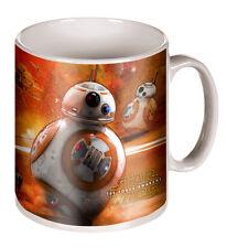 Star Wars The Force despierta BB8 Droid Taza Nuevo Excelente Regalo