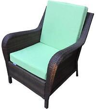 "Outdoor Patio Chair Deep Seat Cushion Seat Pad 20"" X 18"" w/bonus cover 2 avail"