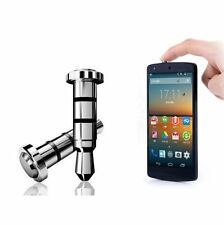I-clic button 3,5 mm Jack Android Smart Phone y tablets antipolvo