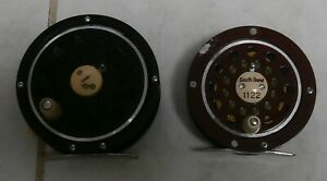 2 vintage Fly Reels / Game Fish RM-130 & South Bend 1122 both made in Japan