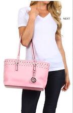 BRAND NEW!  Beautiful PINK RHINESTONE Studded Mini TOTE Handbag - NWT