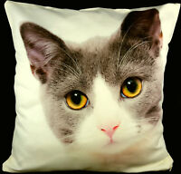 Personalised Cushion Cover Printed Photo Gift Custom Large Print + Filling CREAM