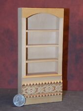 Dollhouse Miniature Bookcase 4 shelf 1:12 one inch scale D28 Dollys Gallery