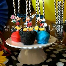 Mickey Mouse Cake Pops Toppers, Cupcakes Toppers and Cake Topper - PRINTABLE