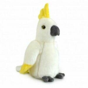 LIL FRIENDS COCKATOO PLUSH SOFT TOY BIRD 18CM STUFFED ANIMAL BY KORIMCO