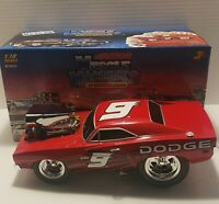 ACTION MUSCLE MACHINES 69 DODGE CHARGER #9 KASEY KAHNE 1/18 SCALE DIECAST