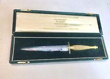 Vintage WILKINSON SWORD ENGLAND London COMMEMORATIVE DAGGER KNIFE LE Box