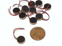 50 Pieces Vibration coin Vibrating motor 12mm small brushless 1400rpm micro B14