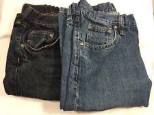 Lot of 2 Boys Lee Jeans Size 14 Regular Dark Light Blue