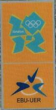 2012 London EBU-UER Logo Olympic Games Mark Media Pin