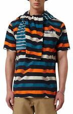 Napapijri Saty T-Shirt In Blue Stripe