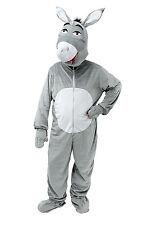 Adult Donkey With Big Head One Size Costume Fancy Dress