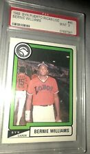 1989 Bernie Williams BYN Puerto Rico PSA 9 MINT YANKEES