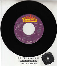 "THE CONTOURS Do You Love Me & Shake, Sherrie 7"" 45 record + juke box strip NEW"