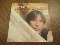 45 tours JACKSON BROWNE tender is the night