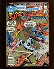 DC Comics Presents #18 FNVF Andru Dillin Superman Zatanna