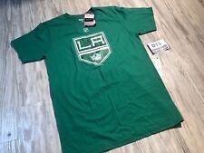 NEW NHL Reebok Green Irish St Patricks Day #23 Brown TEE T-Shirt Men Medium M❄️