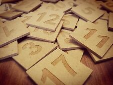 Eselspiel mit Wunsch-Namensschild °°121 Steine°° NEU °°Handarbeit aus MDF Platte