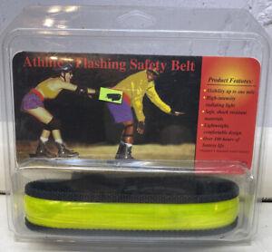 """Athlite Flashing Safety Belt Regular 26""""-34"""" Waist Strap"""