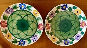 Gail Pittman Daisy Chain Dinner Plate Set Lot Of 2 Excellent Preowned Condition