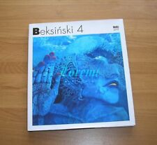 Zdzislaw Beksinski 4 English-Polish Album Painting Zdzisław Beksiński
