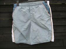 Nike Swimming Shorts/ Trunks - Grey & White Navy Orange - SIZE XL / W36 Mens