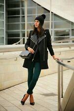 Juicy Couture wool Melton Moto Coat new M $368