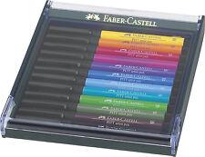 Faber Castell Tuschestift PITT artist pen brush 12er Etui Basic