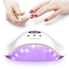 Lámpara de curado del secador del clavo de 12W UV LED el sensor con./desc. Auto