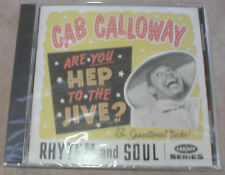 CAB CALLOWAY - ARE YOU HEP TO THE JIVE? - MUSIC CD - NEW SEALED