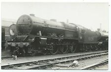 LONDON, MIDLAND & SCOTTISH RAILWAY - LMS LOCO no. 6126 Moore Real Photo Postcard
