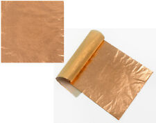 5 Copper Metal Foil Leaf Squares for Adults Gilding Crafts