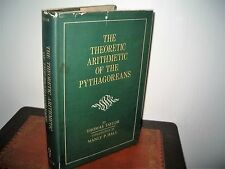 THE THEORETIC ARITHMETIC OF THE PYTHAGOREANS THOMAS TAYLOR Intro MANLY P HALL