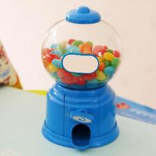 Kids Candy Machine Piggy Gumball Saving Coin Plastic Box Retro Sweets Mini Wt7n