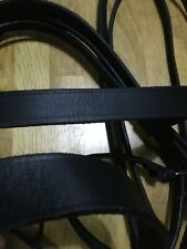 Black Full Double Bridle Derby House