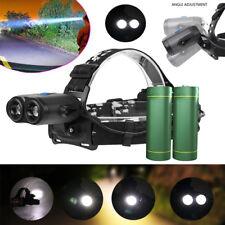 10W T6 LED Head Lamp Flashlight Zoomable Waterproof USB Rechargeable Headlight