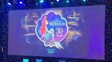 "Little Mermaid 30th Anniversary 2019 D23 Expo 11/""x14/"" Litho Print Poster Ariel"