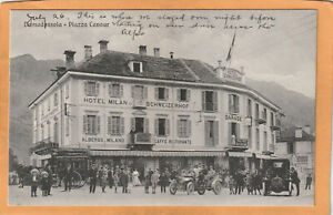 Domodossola Italy 1908 Postcard