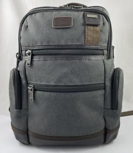 Tumi Alpha Bravo Knox Backpack Laptop Bag Ballistic Nylon Anthracite 222681 $395
